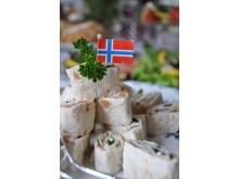 Aber bitte mit Lachs – Delikatessen aus Norwegen auf der Anuga 2017.