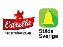 Estrella och Städa Sverige