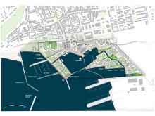 Sweco tar fram plan för Ystads hamn.
