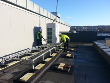 Installasjon av varmepumper på Solvang sykehjem - Omsorgsbygg Oslo KF