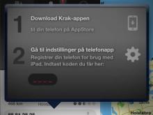 Krak beamer numre fra iPad til smartphone - 4