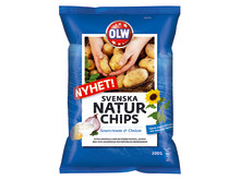 Svenska Naturchips Sourcream & Onion