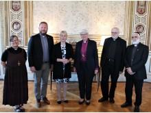 Kyrkoledare mötte Margot Wallström