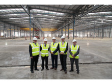 Hitachi Rail Vehicle Manufacturing Facility - Topping out event 30th October 2014