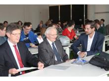 """Klaus Vitt, Staatssekretär im Bundesinnenministerium, referierte an der TH Wildau über """"Cybersicherheit"""""""