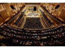 Konsertsalen på Malmö Live konserthus under Verdis Requiem med MSO hösten 2015.