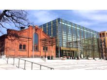 Kungl. Musikhögskolan (KMH): nya campus under inflyttning 2016.