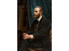 Michael Anker, 'Viggo Johansen i sit atelier', 1875. Skagens Kunstmuseer