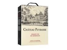 Château Puybarbe - den första boxen från ett Bordeauxslott