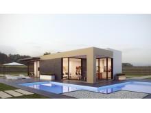 Nybyggt småhus