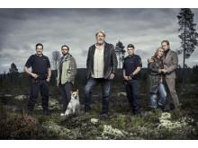 Film klassikeren Jægerne bliver til ny serie på C More med bl.a. Rolf Lassård, der gentager rollen som politimanden Erik