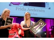 Frida Andersén tog storslam på Ryttargalan