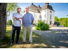 Peter Foppa Forsberg och Lars Fröberg Årsta slott