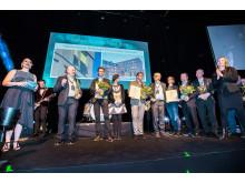 Årets Fasad 2018:  Hållbarhetshuset på KTH Campus
