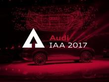 Audi IAA 2017 - Keyvisual for Audi på IAA 2017