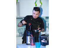 Dato Fazley at Panasonic Cooking Studio (Bangsar, KL)