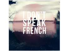 I Don't Speak French