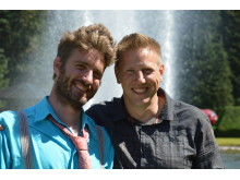 Lagledare Peter Bengtsson och Tony Johansson