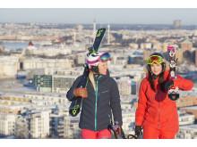 Skiers Hammarbybacken