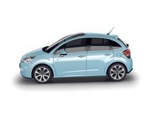 Nya Citroën C3 i profil