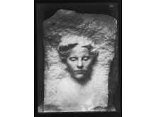 Gustav Vigeland: Female Portrait, 1908. Marble.
