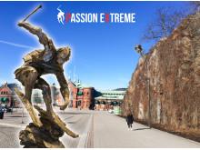 Skulpturen Passion Extreme invigs i Borås 16 maj