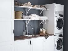 Alice tvättstuga hyllförvaring