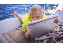 Digital School in a Boat