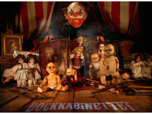 Dukkekabinettet Halloween på Liseberg