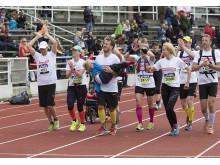 Målgång Stockholm Marathon 2014