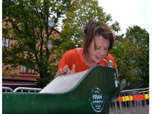 Ny får göteborgarna fler möjligheter att dricka kranvatten på stan. Det är flera hundra gånger bättre för miljön med kranvatten jämfört med köpt, paketerat vatten. Foto Frida Gustavsson
