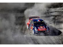 Etta och tvåa i Hell - ett drömresultat för Team Peugeot Hansen
