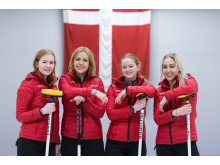 National Curling Team with Trollbeads