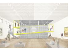 ArkDes skapar nytt utställningsrum