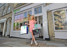 Laura Whitmore launches Nectar partnership with Oxfam Tag Your Bag