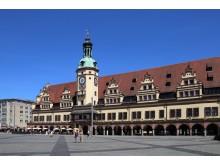 Eine der bekanntesten Sehenswürdigkeiten in Leipzig: das Alte Rathaus
