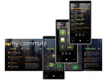 Windows Phone 7_My Commute