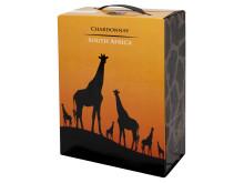 KWV Chardonnay box - giraffen i ny förpackning