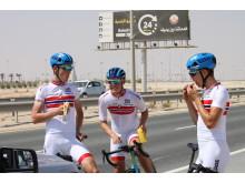Trening under sykkel-VM 2016