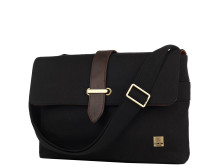 Black Knomo Troon Canvas Body Messenger