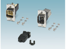 Robust panel mounting frames for RJ45 and SC-RJ