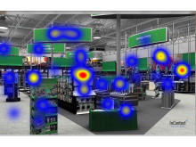 Incontext Virtual InStore Promotion Heat Map Tobii Image