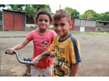 Barn i Nicaragua