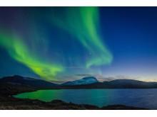 Nordlyset Aurora Sky Station Foto David Becker
