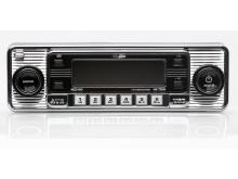 Retroradio från Verktygsboden – moderna funktioner i gammalt utseende, krom bild2