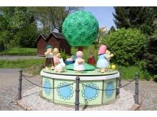 Wendt & Kühn Figuren entdeckt man hier auf der großen Spieldose in Grünhainichen