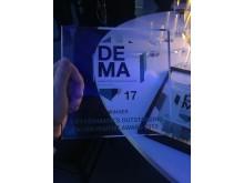 NorthSide vandt to priser for bæredygtighed til DEMA17