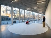 Dora García, Jag talar alltid sanning, installationsvy Bonniers Konsthall 2018.