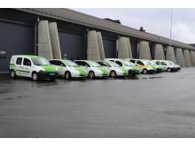 El-biler ved Oslo Lufthavn