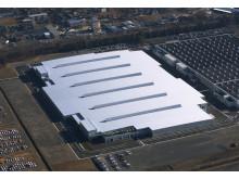 Subarus nya motorfabrik i Gunma
